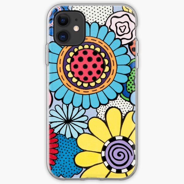 One Yellow Bloom iPhone Soft Case