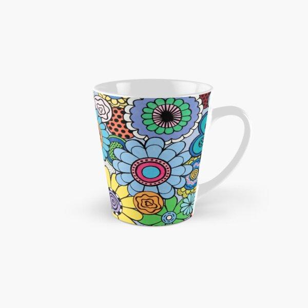 One Yellow Bloom Tall Mug