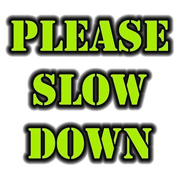 Please Slow Down by cmmei