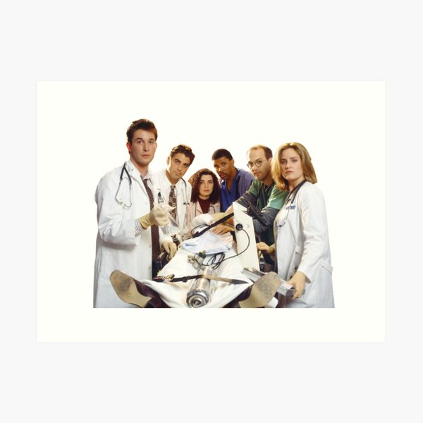 ER Original Cast Art Print