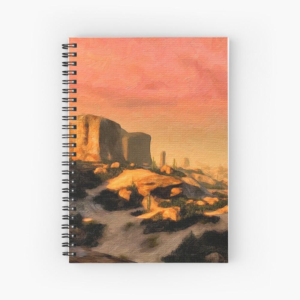 Prehistórico Cuaderno de espiral