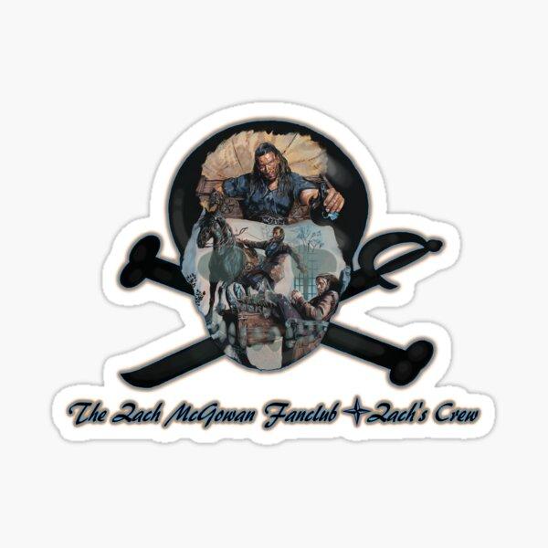 The Zach McGowan Fanclub - Zach's Crew Sticker
