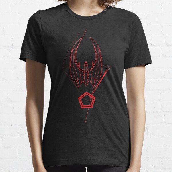 BSG-Cylon Raider  Essential T-Shirt