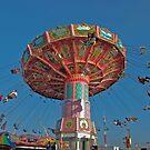 High Flyers--Del Mar Fairgrounds California by milton ginos