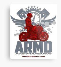 ARMD Naked Metal Print