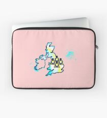 Yogic Flying in the UK (Natural Law Party) Laptop Sleeve