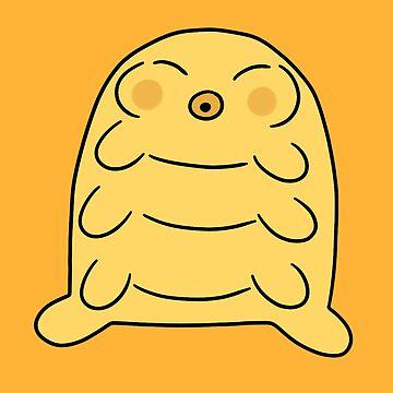 Chubby Yellow Waterbear  by SaradaBoru