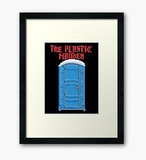The Plastic Maiden Framed Print