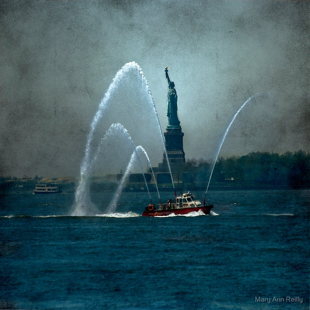 Liberty & The Fireboat by Mary Ann Reilly