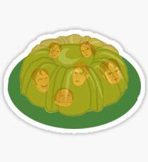 Dwight Jello Mold the Office Sticker
