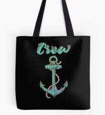 Crew Anchor Nautical Tote Bag