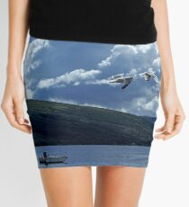 Flight Over Loch Fyne Mini Skirt