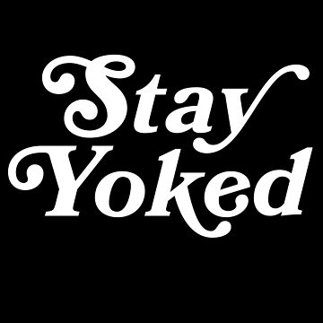 Stay Yoked Bodybuilding Powerlifting Gym Workout T-Shirt by irondiscipline