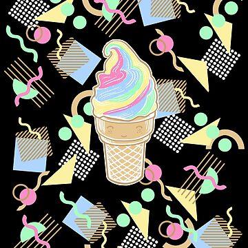 Kawaii ice cream by BlancaJP
