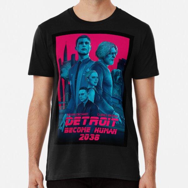 Detroit devenir humain 2038 T-shirt premium