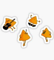 Nachos locos Sticker