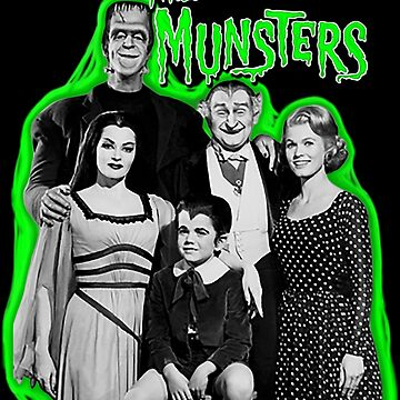Munsters 50th Anniversary family portrait by gjnilespop