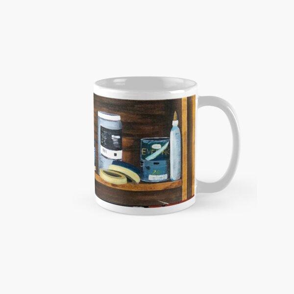 Art Shelf painting Classic Mug