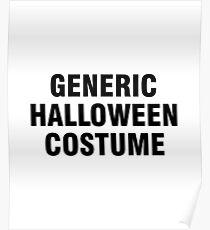 Generic Halloween costume Poster
