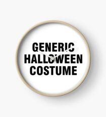Generic Halloween costume Clock
