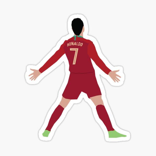 Célébration de la Coupe du monde de Ronaldo Sticker