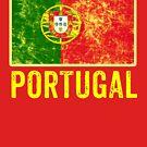 Portugal Flag Love Portuguese Pride Patriot  by thespottydogg
