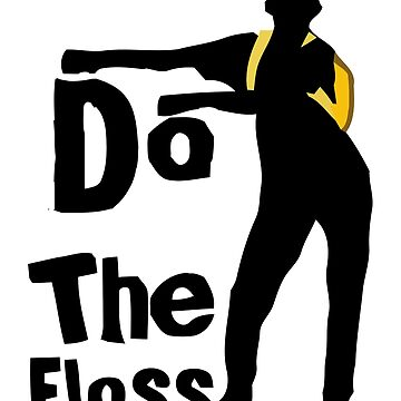 Floss Dance Pose by Luisombra