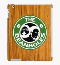 The Beanholes Woodgrain iPad Case/Skin