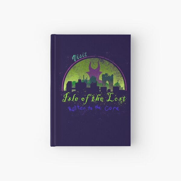 Visit the Isle of the Lost Hardcover Journal