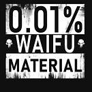 0.01% Waifu Material by Powerhh