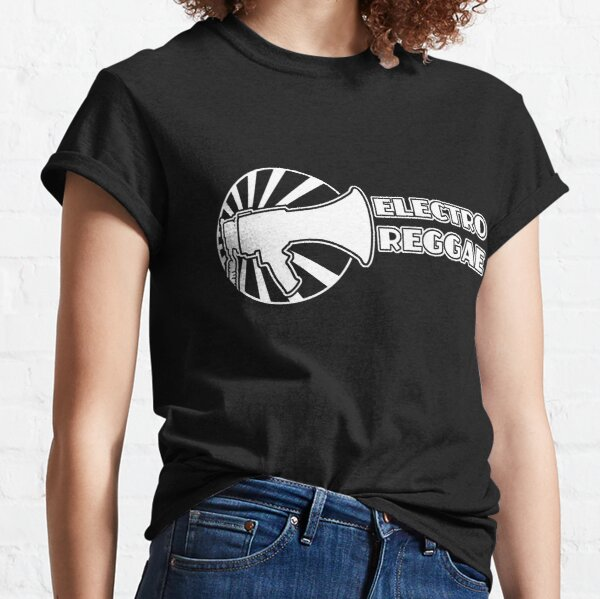 Electro Reggae Logo - White Classic T-Shirt