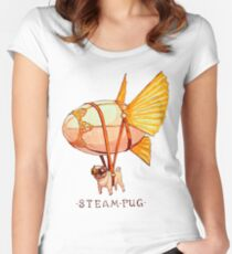 Steampug Women's Fitted Scoop T-Shirt