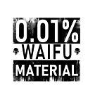 0.01 Waifu Material by Powerhh