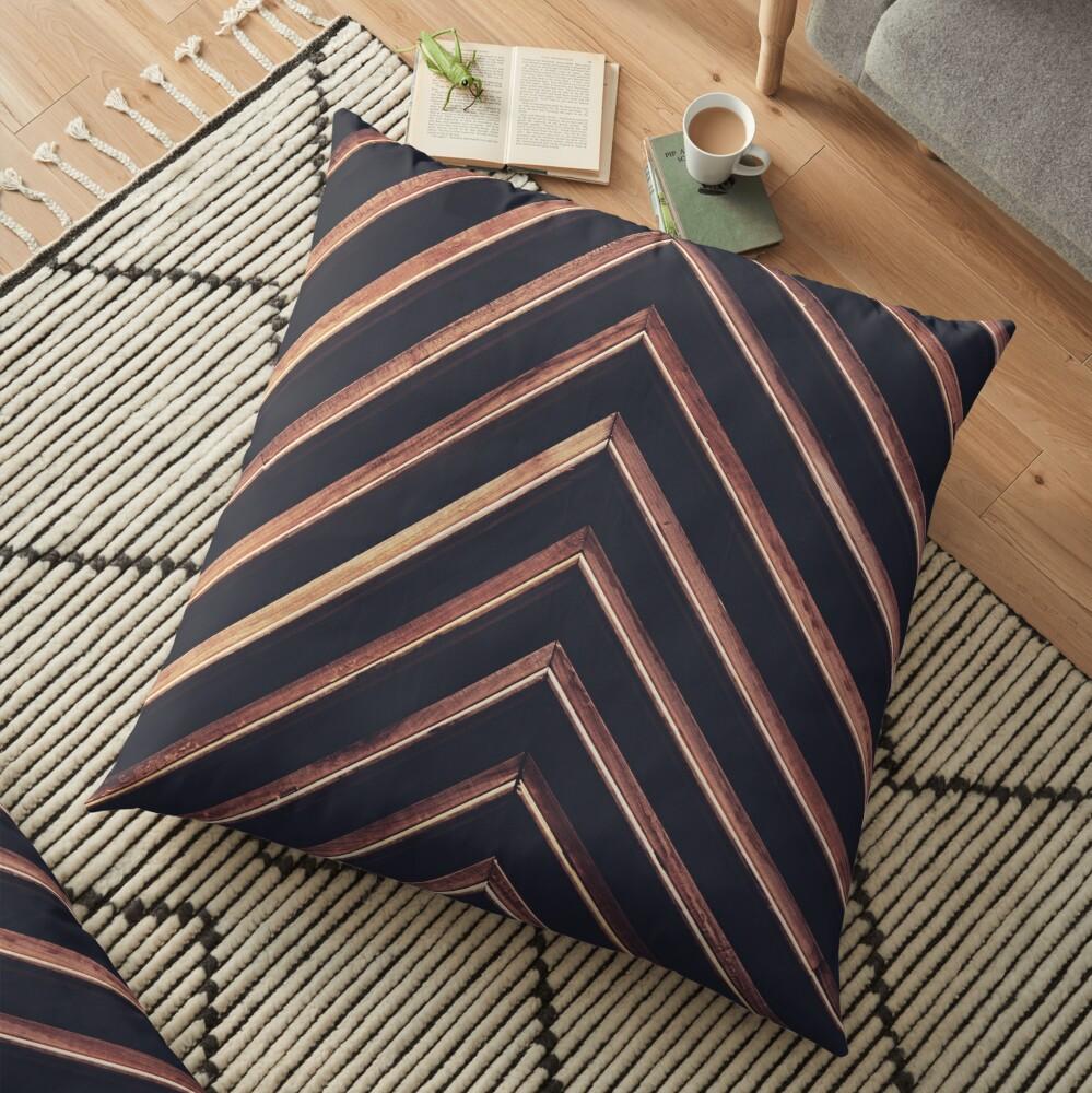 Stripe Pattern Floor Pillow