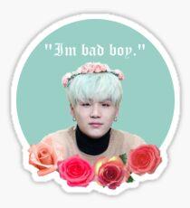 Suga is a bad boy  Sticker