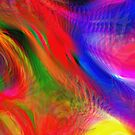 Abstract pattern digital painting electronic love no #2 by andesign101