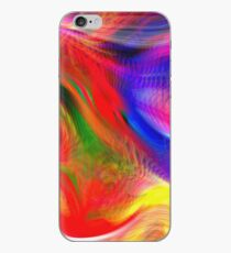 Abstract pattern digital painting electronic love no #2 iPhone Case