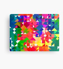 Abstract pattern digital painting electronic love no3 Metal Print