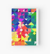 Abstract pattern digital painting electronic love no3 Hardcover Journal
