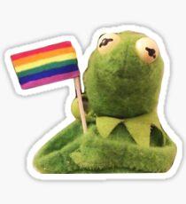 LGBT KERMIT Sticker