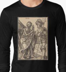 Albrecht Dürer or Durer Death and the Lansquenet Long Sleeve T-Shirt