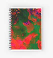 Abstract pattern digital painting electronic love no6 Spiral Notebook