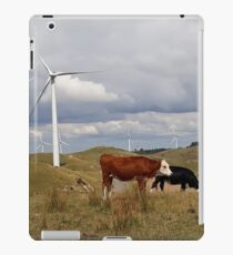 Te Apiti Wind Farm, Palmerston North, New Zealand iPad Case/Skin