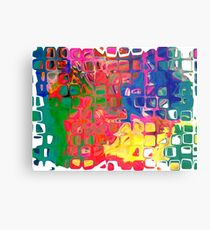 Abstract pattern digital painting electronic love no8 Metal Print