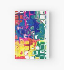 Abstract pattern digital painting electronic love no8 Hardcover Journal