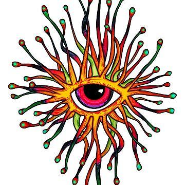 Psychedelic Eye by TM490