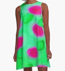 Basenji Flower A-Line Dress