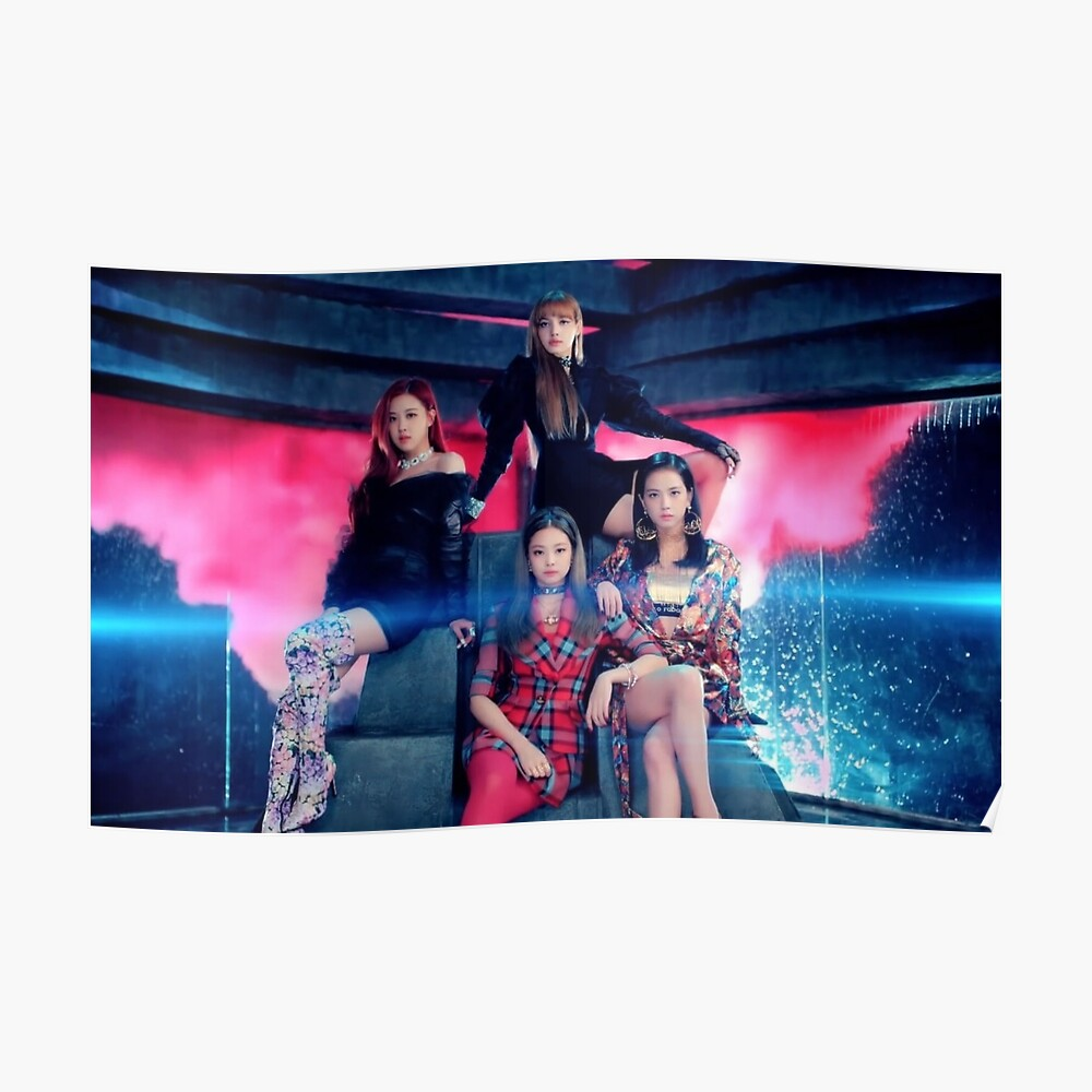 Blackpink MV Pose Poster