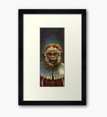 The Court Joker, Shaccoe Framed Print