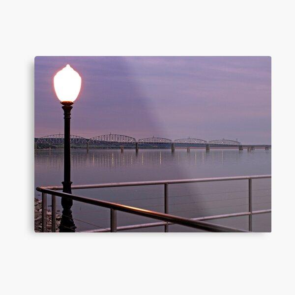 Missouri River at Chamberlain Metal Print